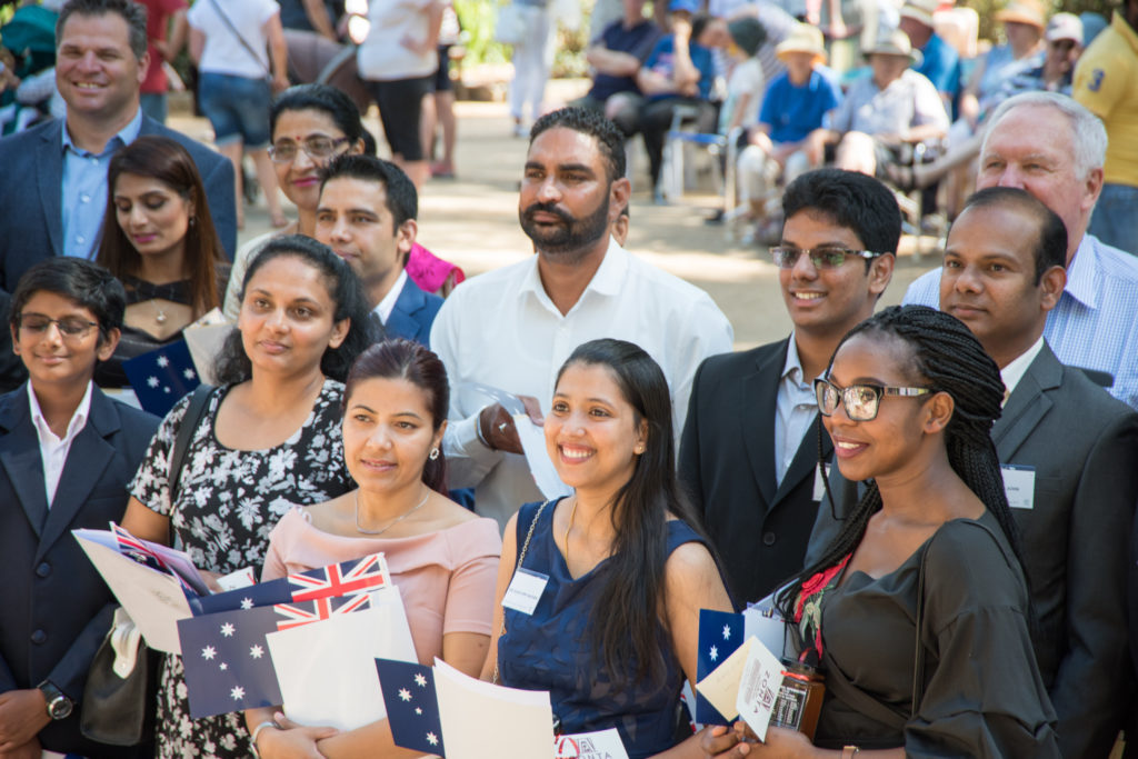 Orange's latest citizens from Australia Day 2018.