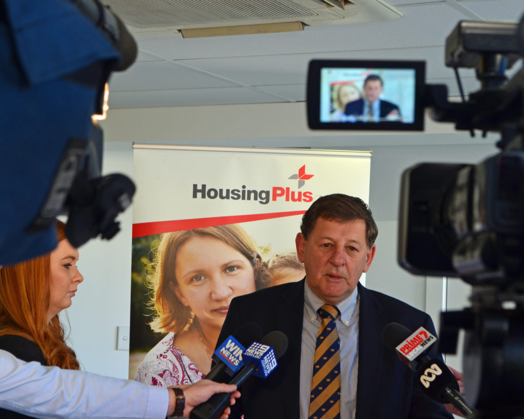 Funding announcement for Domestic Violence Crisis Centre