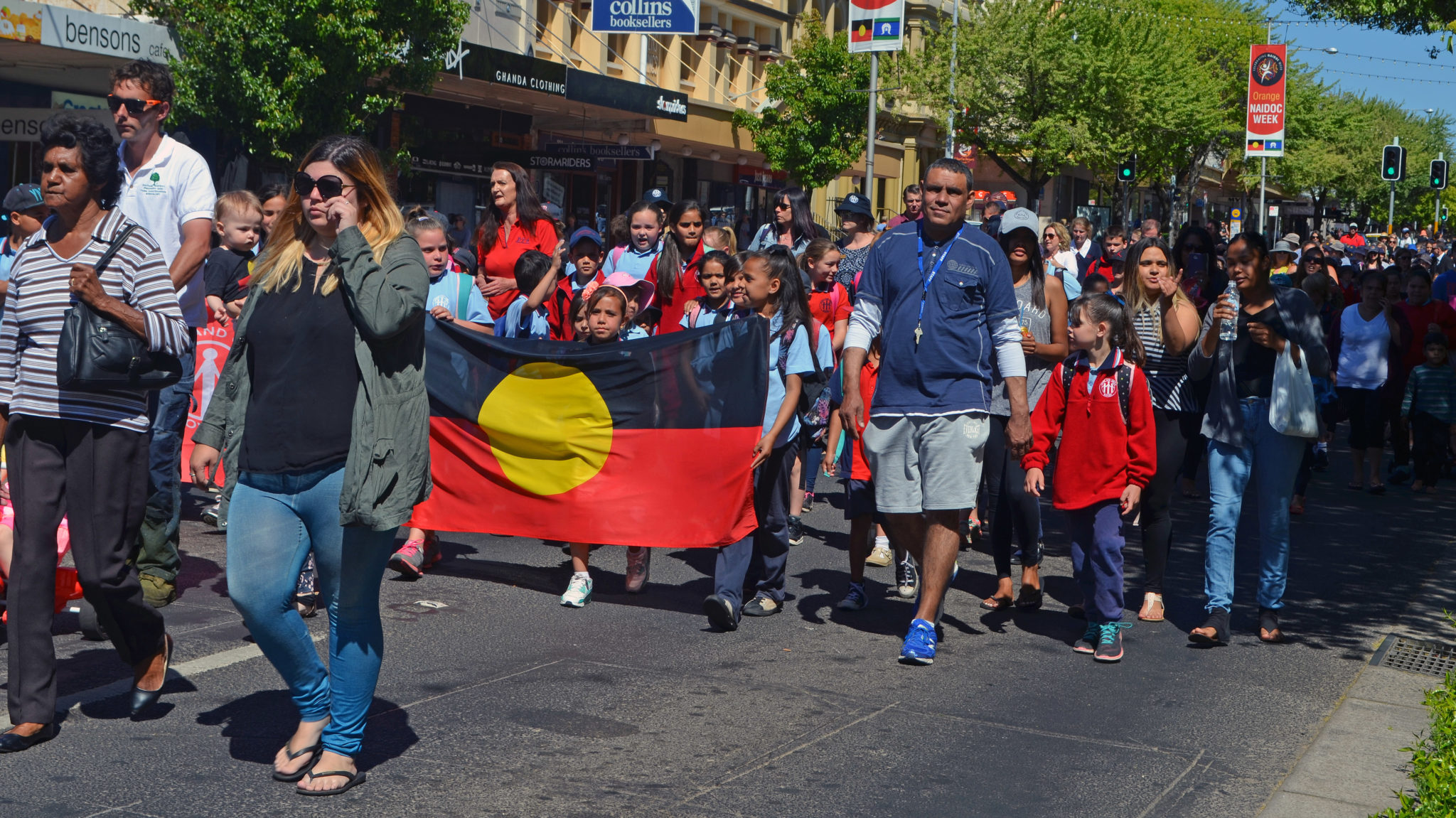 NAIDOC march in 2016