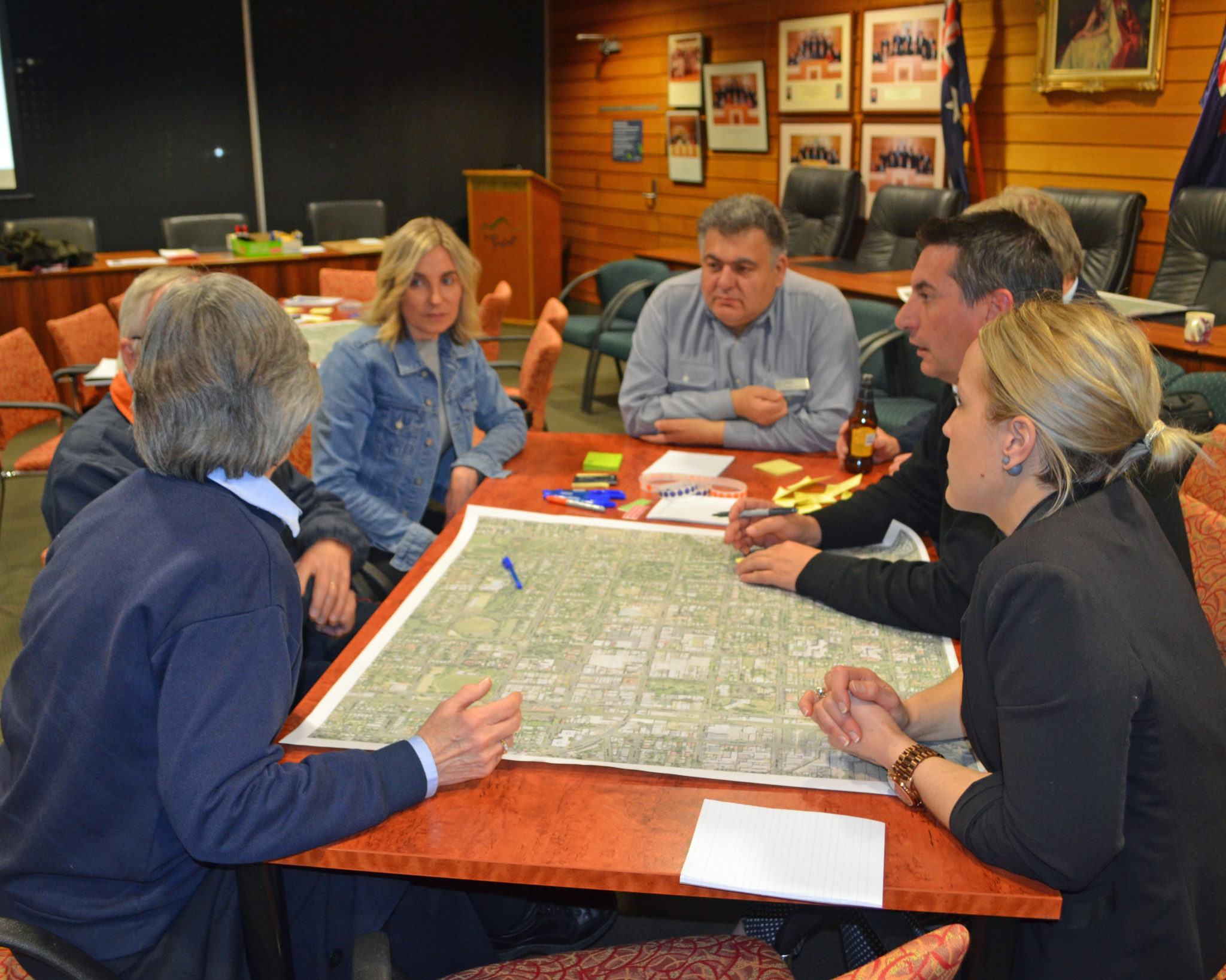 About 40 people came to one of the workshops held to discuss plans for OCFutureCity.
