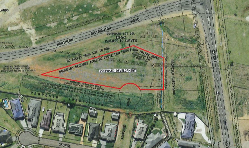 Location map of the new centre.
