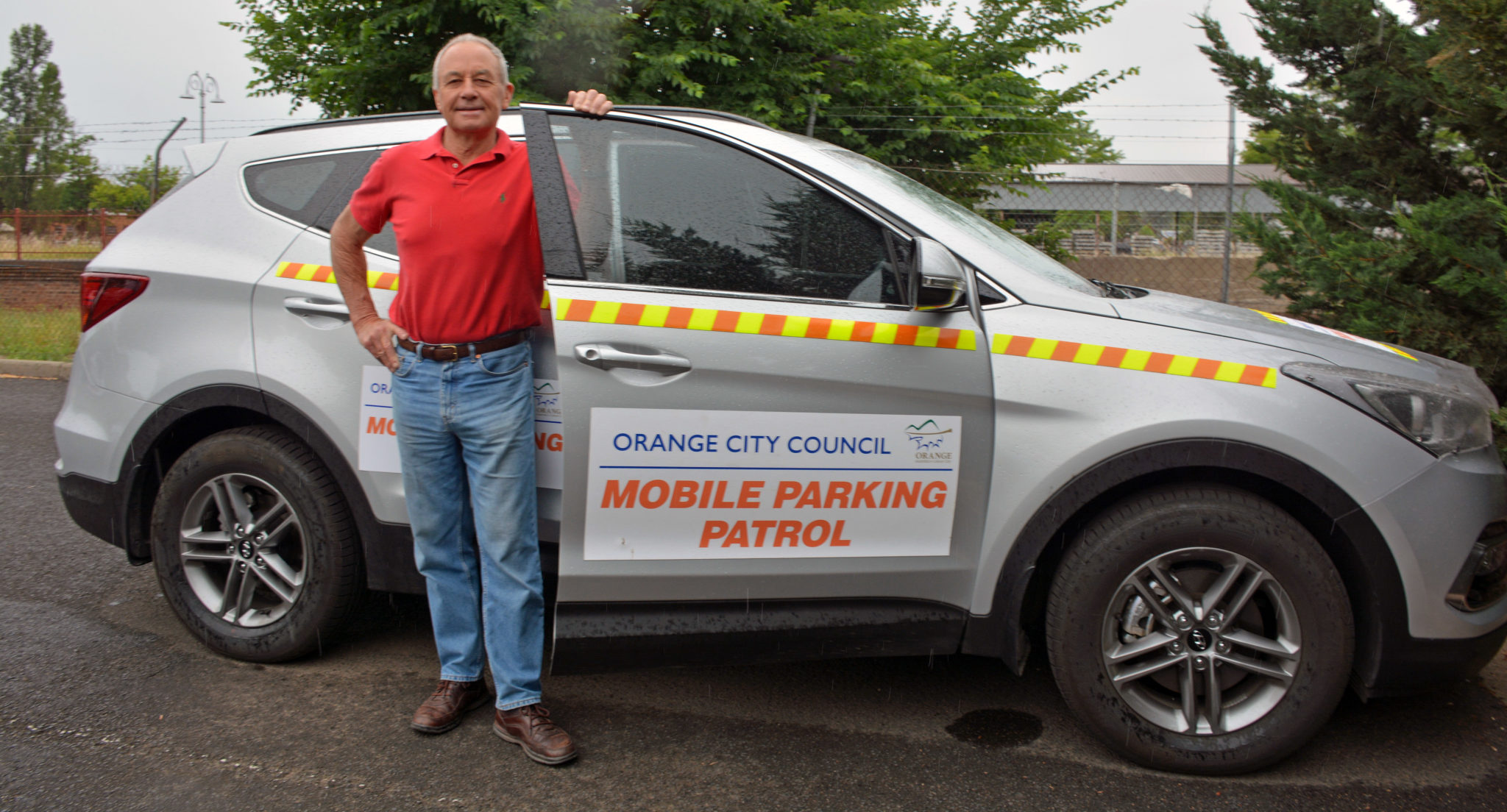 Cr Russell Turner is urging all parents to park correctly around schools