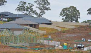 Housing subdivision in Orange