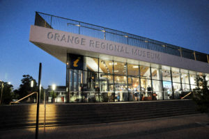 Orange Regional Museum during an after hours event