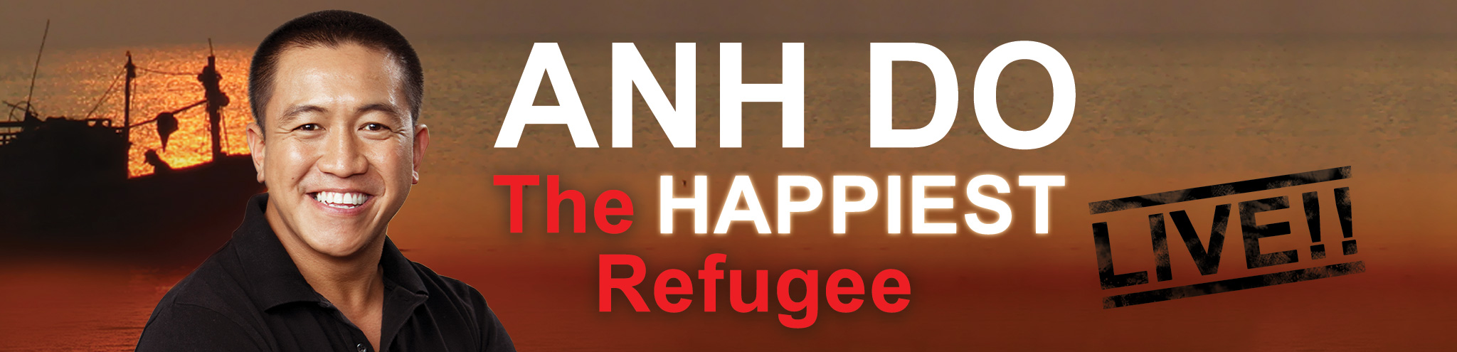 And Do - The Happiest Refugee Live!!