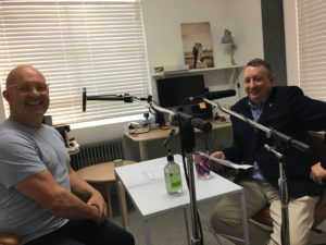 Talent recording podcast