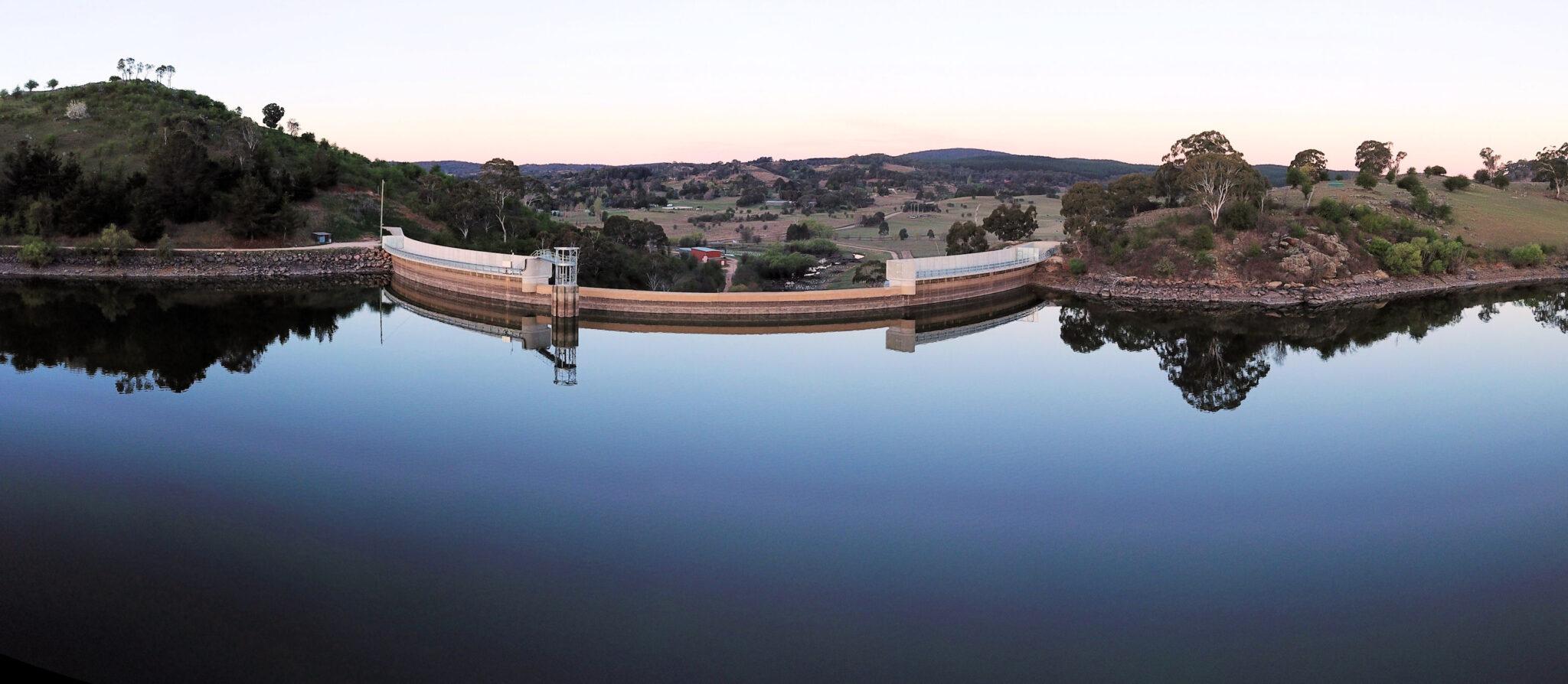 Suma Park Dam in 2018