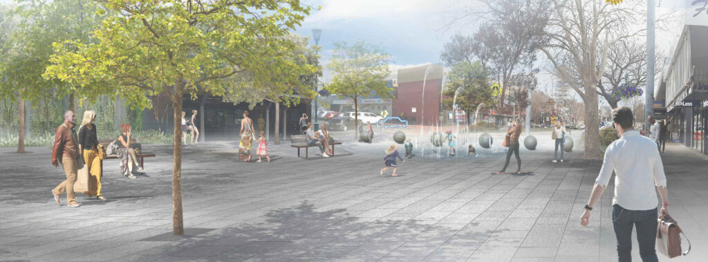 proposed mall on Anson Street