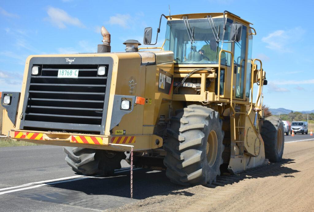 large road profiler