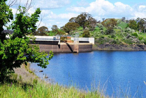 Suma Park Dam at 62 per cent full