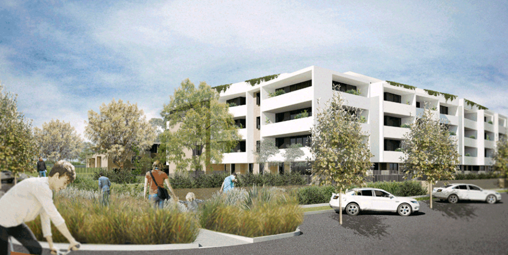 A rendering of the type of apartments which could be built should the DCP change go ahead