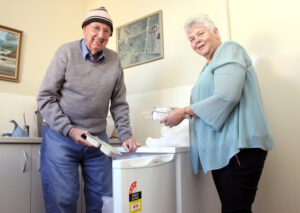 Meals on Wheels is one of the services on offer for older people at the Seniors Expo.